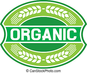 organico, etichetta, (organic, seal)