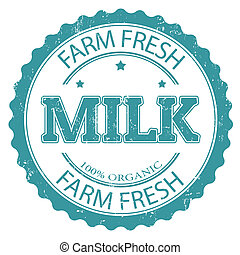 organico, latte, francobollo