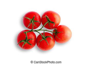 organico, pomodori vite