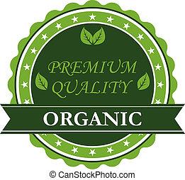 organico, premio, qualità, etichetta