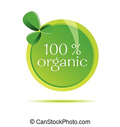 organico, segno, vettore, illustrazione