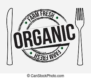 organique, étiquette
