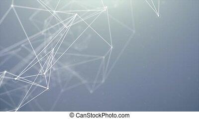 organique, plexus, résumé, mouvement, aniamation, fond, original, boucle
