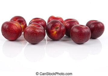 organique, prunes
