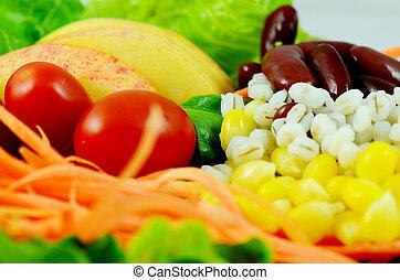 organique, salade