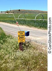 organique, signe., agriculture