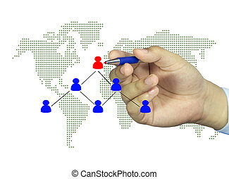 organisation, technologie, tabelle