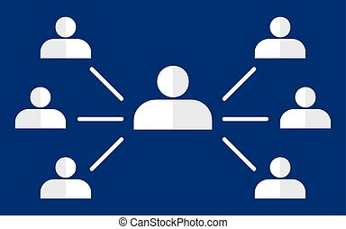 Organisational chart corporate hierarchy