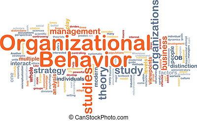 organisationnel, os, concept, fond, comportement