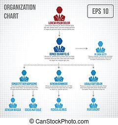 organisatorisch, infographic, tabel