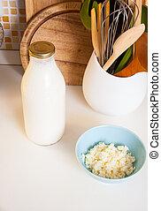 organisch, probiotic, graankorrel, kefir