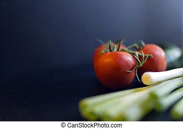 organisk, grønsager