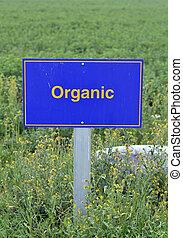 organisk, mat.