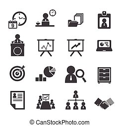 organización, dirección, conjunto, empresa / negocio, icono