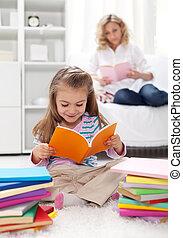 organización, el, hábito, de, lectura