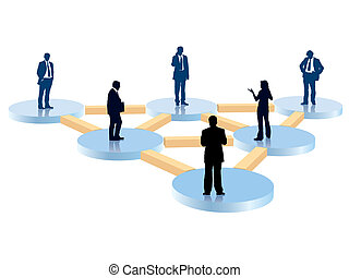 Organization chart - People in the organization chart,...