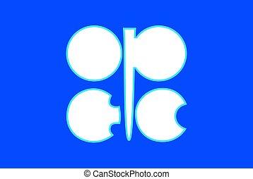 Organization of Petroleum Exporting Countries OPEC, logo