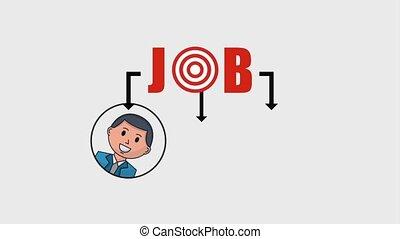 organization people team job animation hd