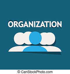Organization Vector Background