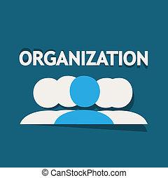 Organization Vector Background