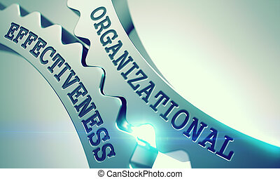 Organizational Effectiveness - Mechanism of Metal Cog Gears...