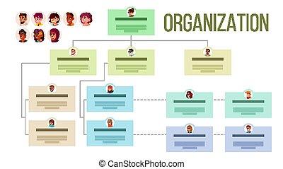 Organizational Structure, Company Organogram, Flowchart ...