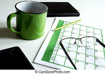 Organizing appointments - Organizing business and personal...