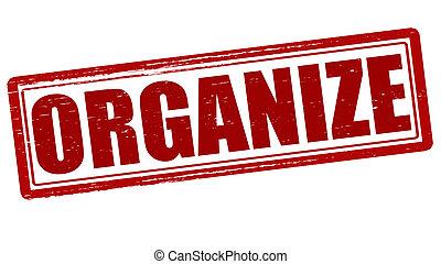 organizować