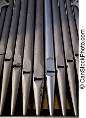 organo, tubi per condutture