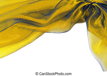 fabric texture border frame