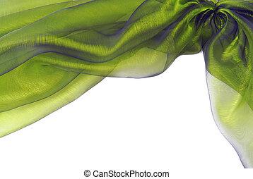 organza fabric texture border frame