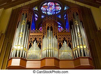 orgue, église