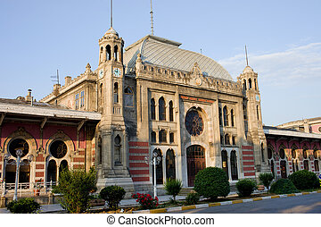Orient Express Station in Istanbul - Sirkeci railway station...