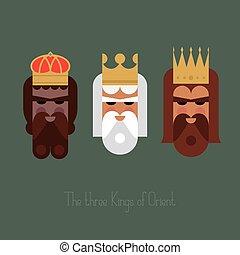 orient, rois, trois wisemen
