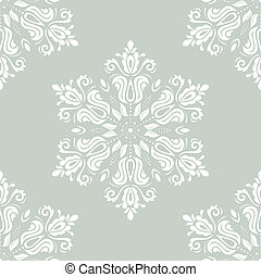 Orient Seamless Pattern. Abstract Background - Oriental...