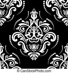 Orient Seamless Vector Background - Orient vector classic...