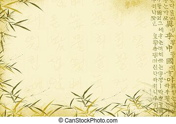 Oriental background - Old oriental background