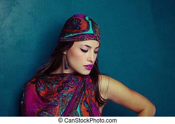 oriental, beleza