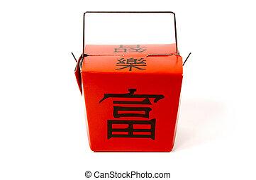 Oriental Box - Chinese Food Takeout Box