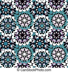 Oriental colorful ornament seamless pattern Vector illustration