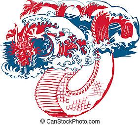 oriental, dragão mar