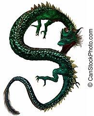 oriental, dragón