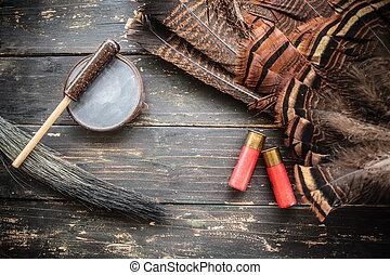 oriental, fond, turquie, chasse, sauvage