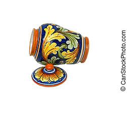 Oriental Jar (open left)