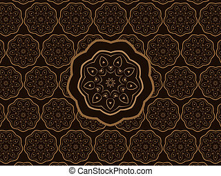 Oriental Ornament Vector Pattern