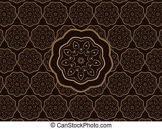 Oriental Ornament Vector Pattern