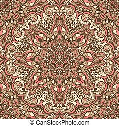 Oriental ornate seamless pattern.