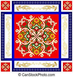 Oriental pattern-5