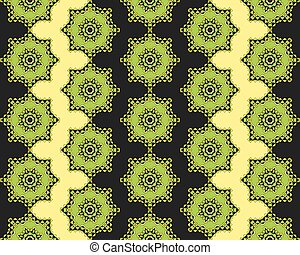 Oriental pattern background
