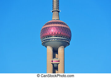 oriental pearl tower in Shanghai
